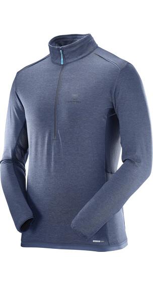 Salomon Discovery Flowtech sweater blauw